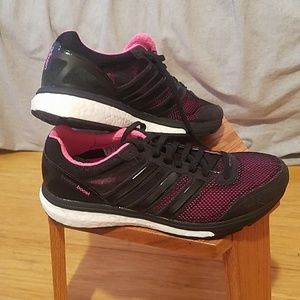 Adidas Boston Boost running shoes size 8W
